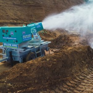 Tera 60 dust suppression unit